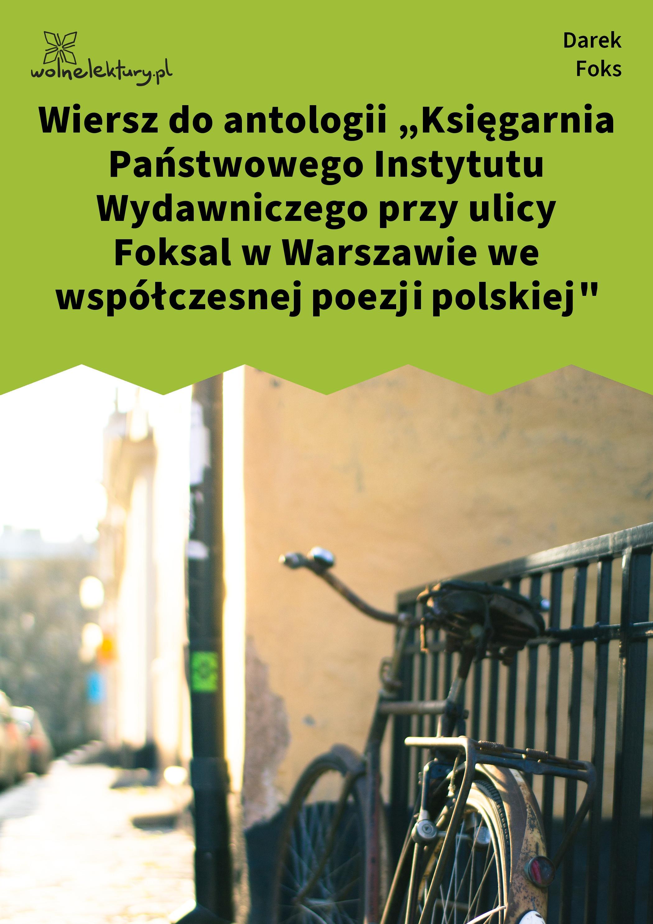 Darek Foks Wiersze O Fryzjerach Niewąski Tydzień Wiersz