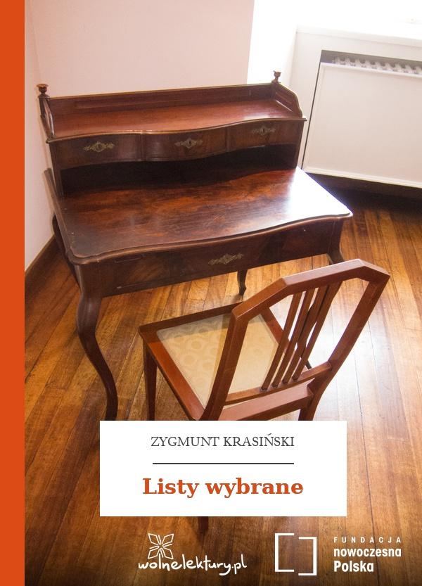 7fc35ec16c42b Zygmunt Krasiński, Listy wybrane :: Wolne Lektury