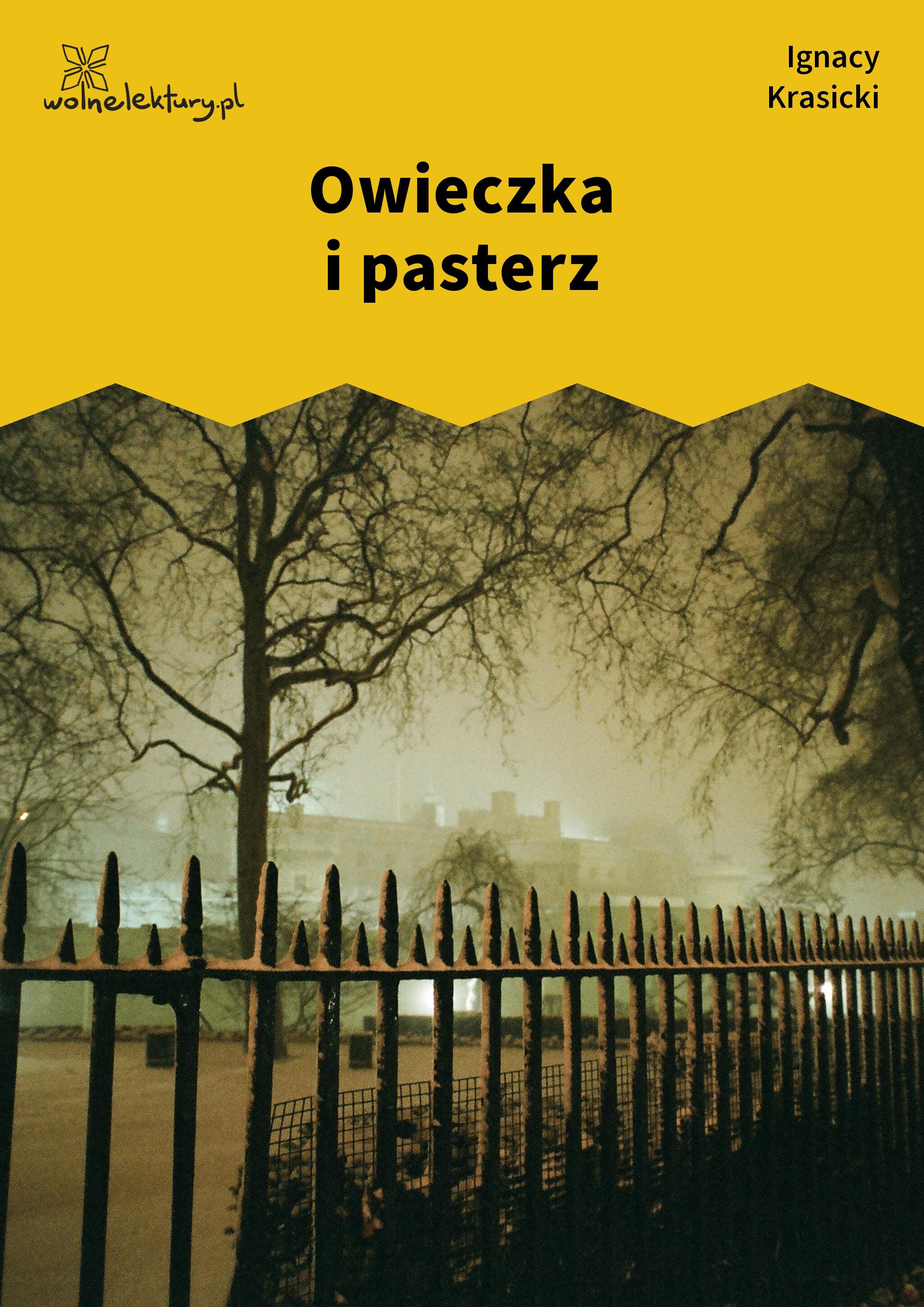 Ignacy Krasicki owieczka i pasterz