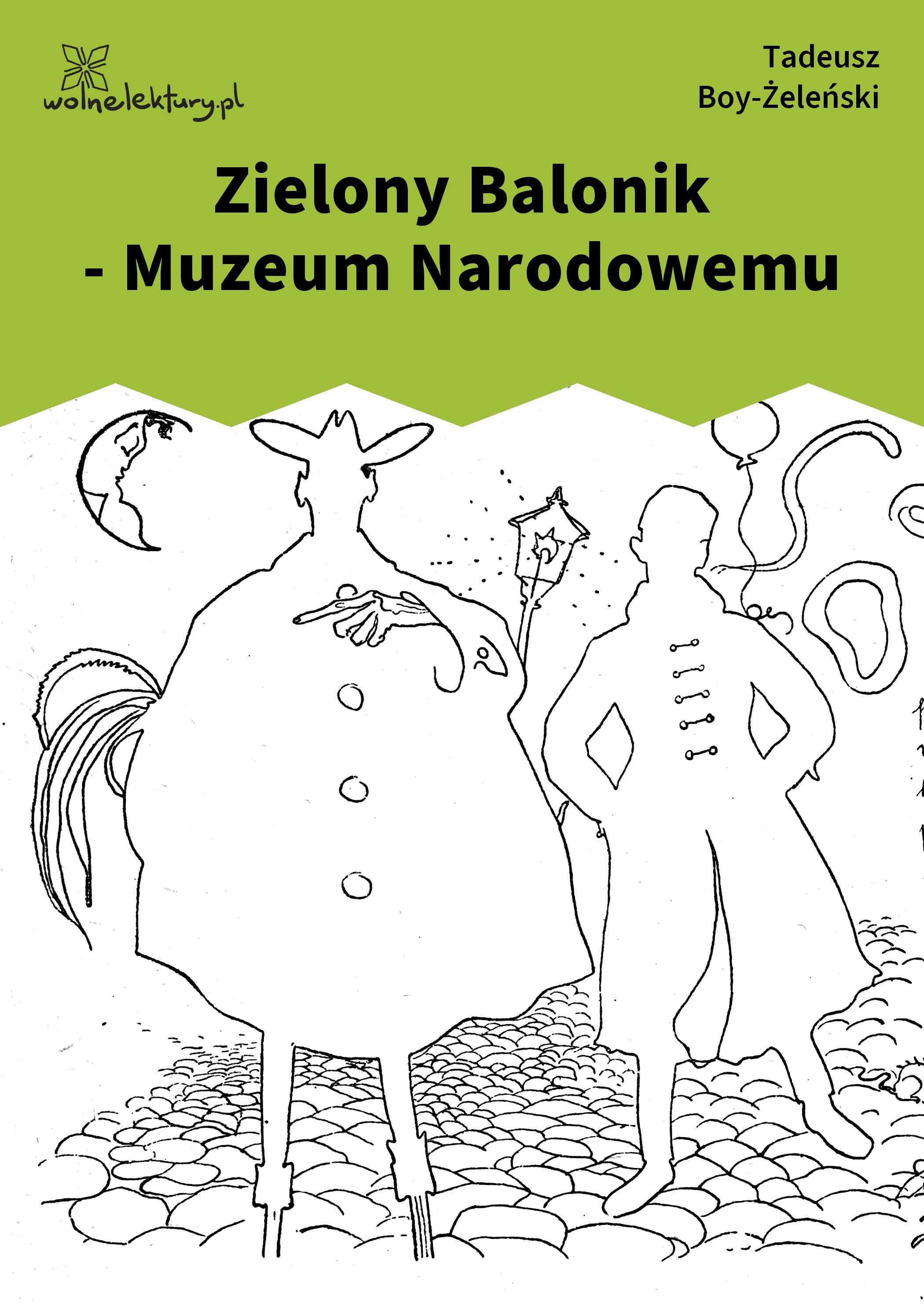 Tadeusz Boy żeleński Słówka Zbiór Piosenki Zielonego