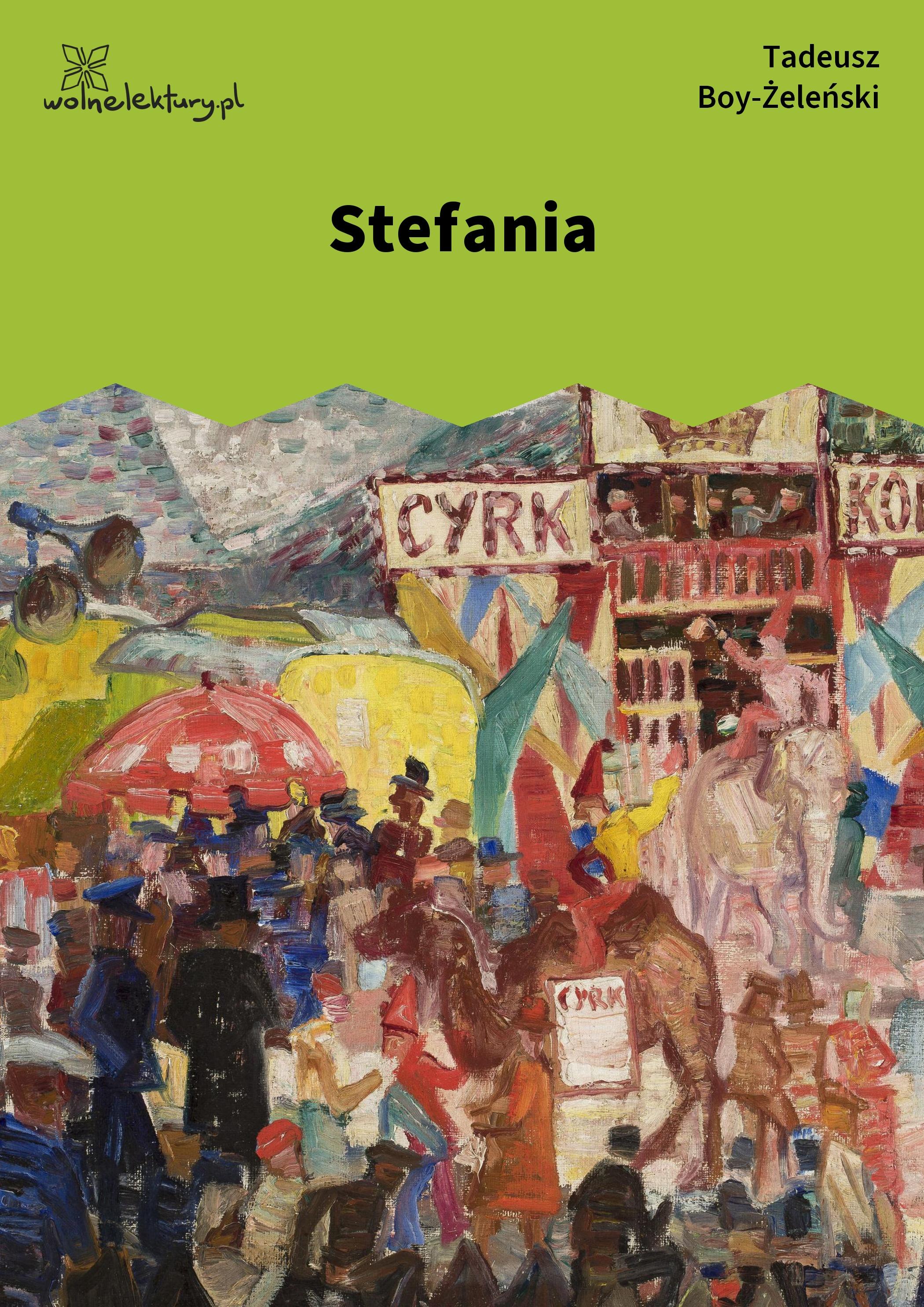 Tadeusz Boy żeleński Słówka Zbiór Stefania Wolne Lektury