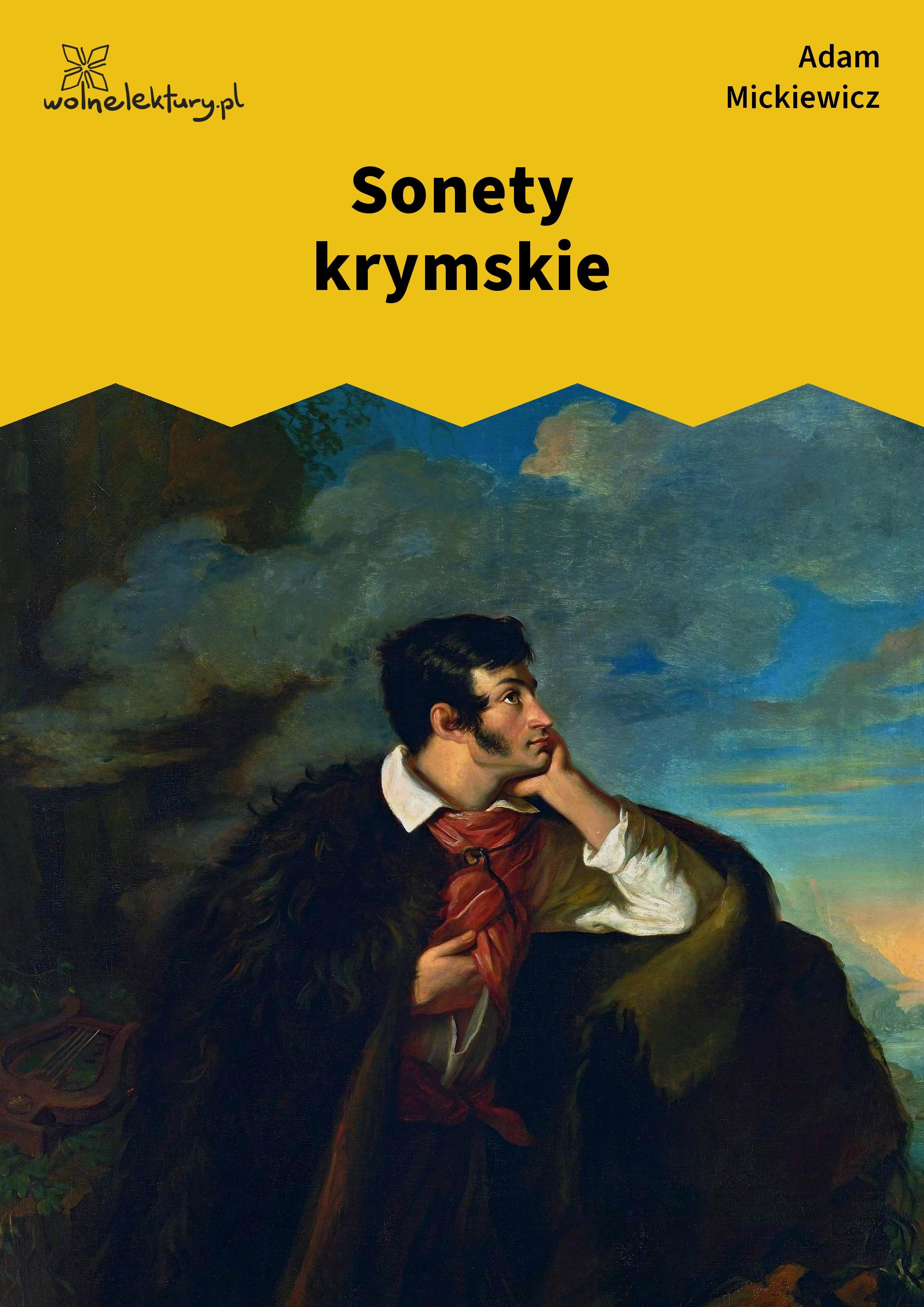 Adam Mickiewicz Sonety Krymskie Wolne Lektury