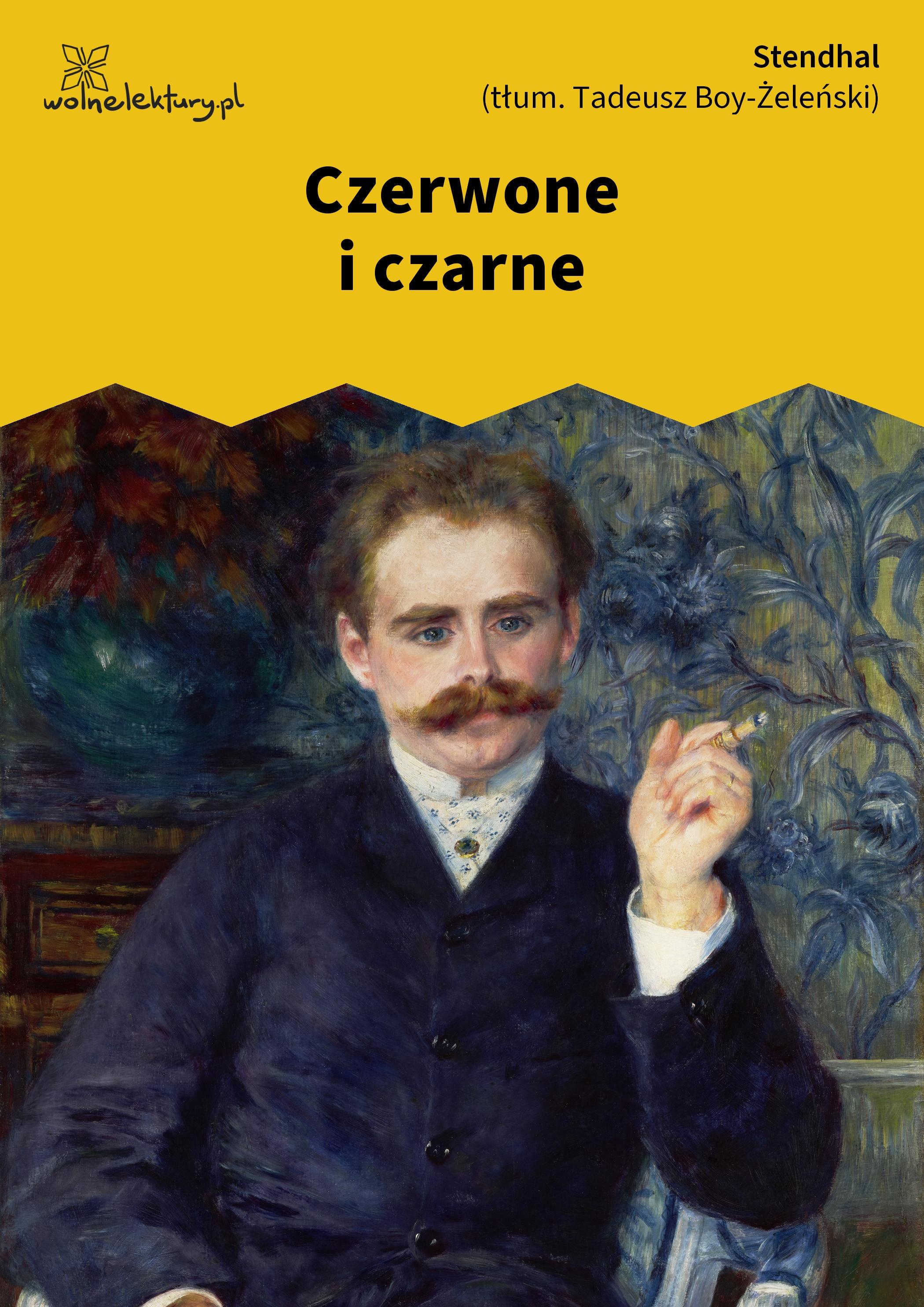 bd2e2d43b5586 Stendhal, Czerwone i czarne :: Wolne Lektury