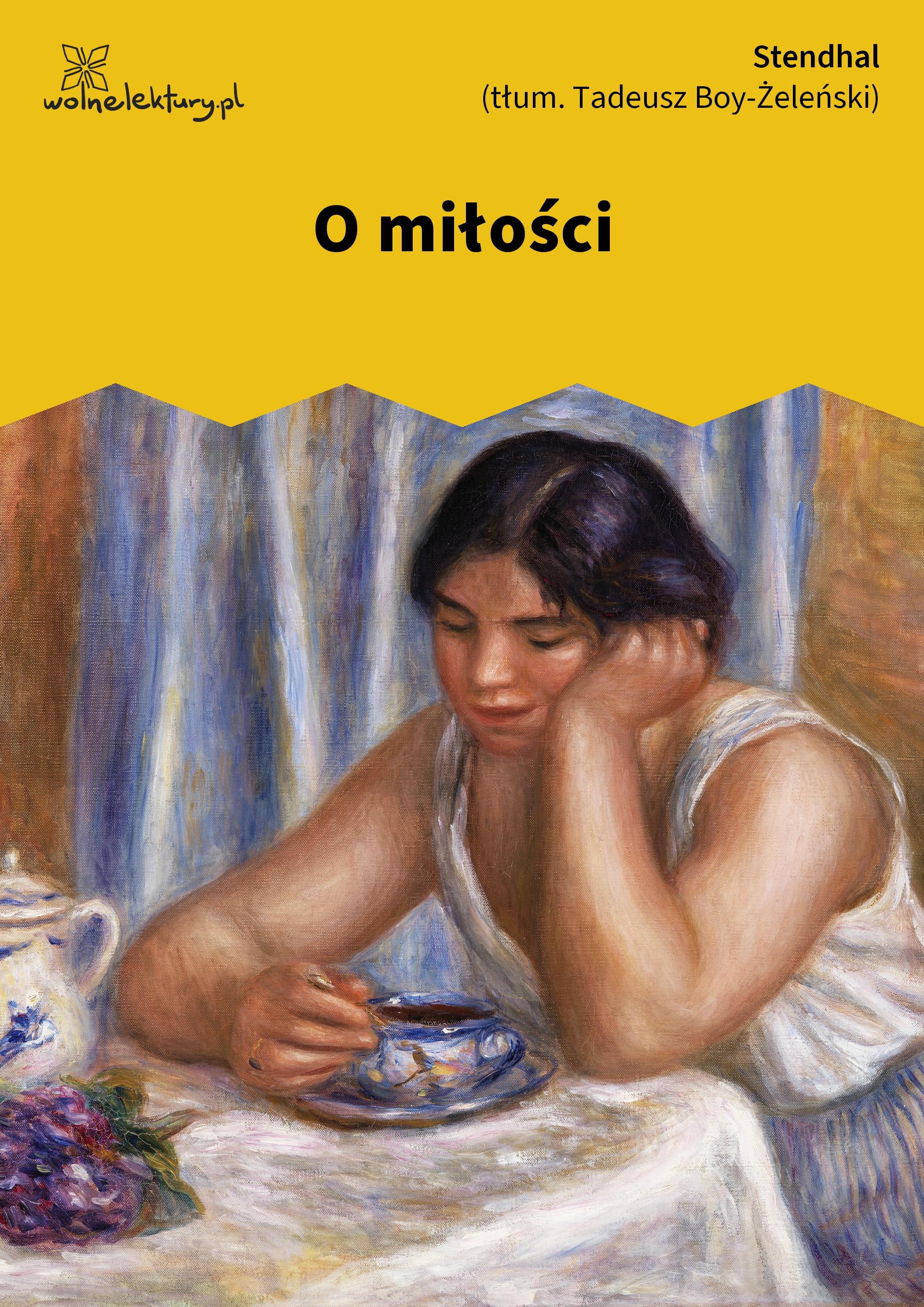 Stendhal O Miłości Wolne Lektury