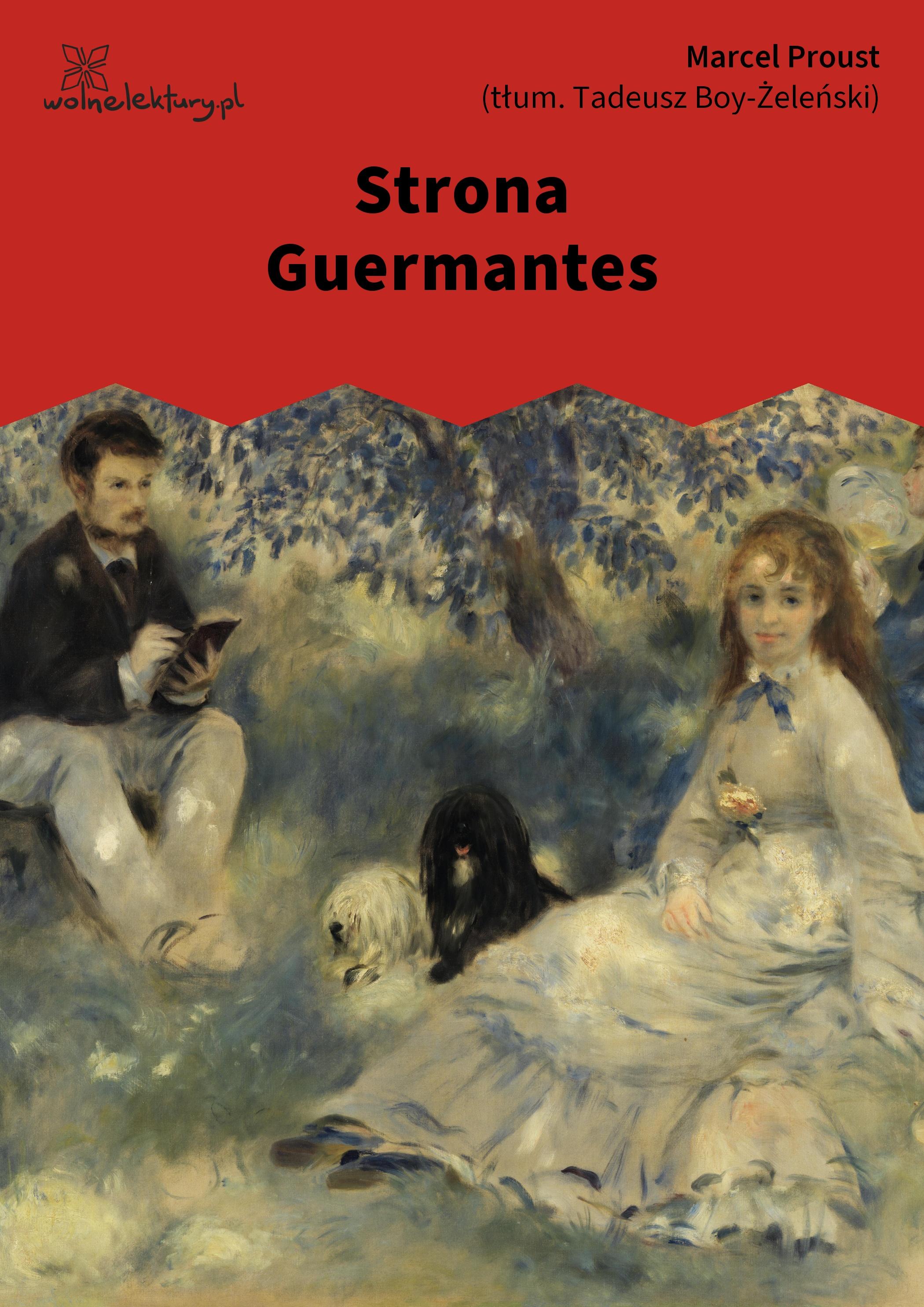 Marcel proust strona guermantes wolne lektury Strona house