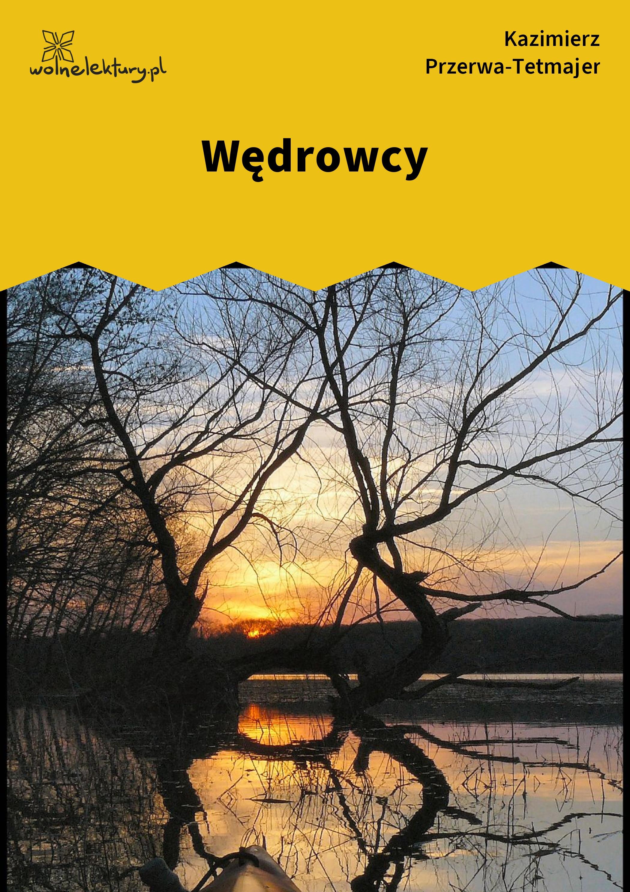 Kazimierz Przerwa Tetmajer Wędrowcy Wolne Lektury